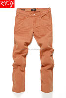 Crazy Age Jeans Wholesale China Vip Denim Jeans Glazed Ginger Wash B21433050H