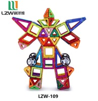 High quality & Best price magnetic blocks, Magnetic building blocks 109pcs/set, Magnetic tiles
