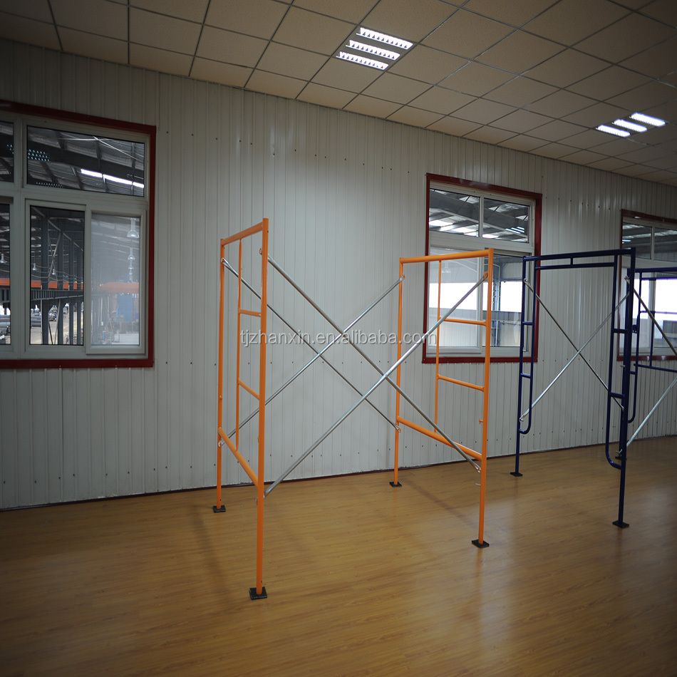 5' X 6'4'' Types Of Scaffolding Materail Construction Steel A Frame Scaffolding