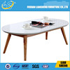 Modern coffee table ,hot sale end table , white wood coffee table CT008-M3-7