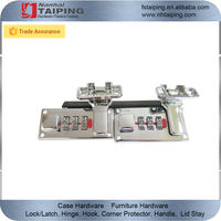 Chrome Plated Combination Hard Luggage Lock