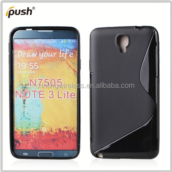2014 high quality s line case for samsung note3 n7505