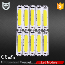 DC12V injection led module light for signage / high power led module 2w advertising light source