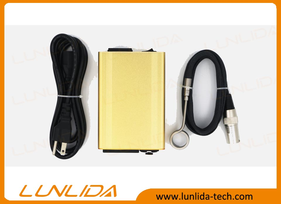 Lunlida gold color flat coil heater enail box