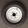 400-10 Motorcycle/wheelbarrow Wheels Tyre And Tube