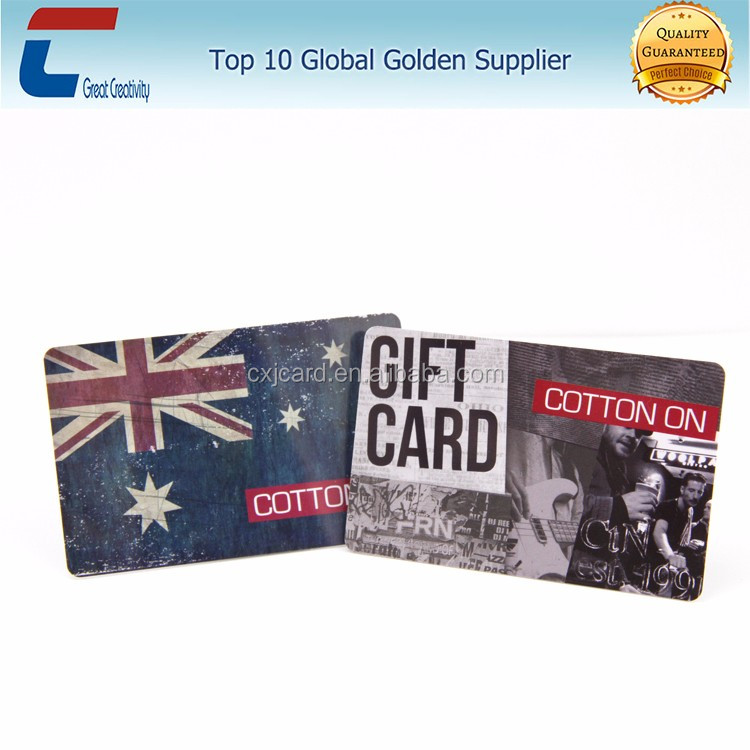 Factory price customized fashion design hard plastic business low price plastic pvc card