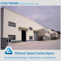 High Security Steel Structure Prefab Factory Building