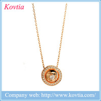collares de moda 2015 zircon stone pendant necklace colgante jewellery wholesale