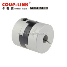 backlash free cross slide flex shaft coupling