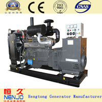 180kw diesel power open type soundproof canopy silent generator set