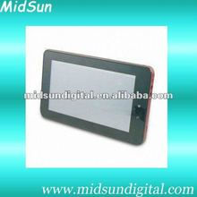 7 inch a13 tablet pc Android 4.0 os, 5 points Capacitive, 4GB/512M,3G WiFi,Camera Freeshipping