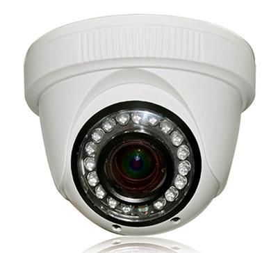 Maveric cctv camera housing with 18 LED light Plastic Dome Camera housing manufacturers