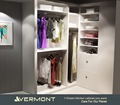 Hottest Fair Price Girl Walk in Bedroom Wardrobes Pefab Closet Cabinets