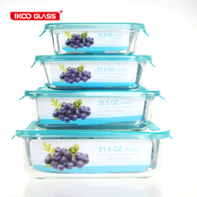 Food warmer glass japanese rice container
