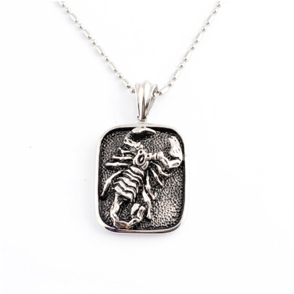 Yiwu Aceon stainless steel hip hop men's scorpion pendant