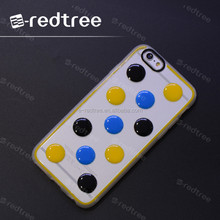 Dot shape tpu printing fashion mobile back case
