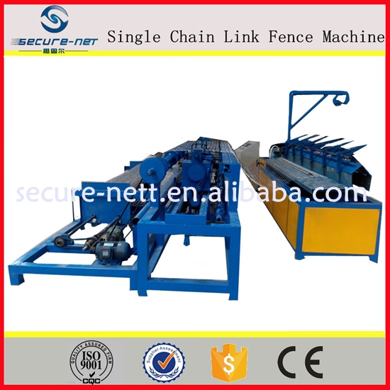 China direct factory automatic chain link fence machine price