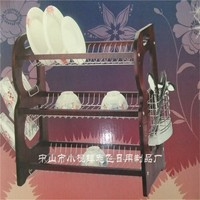 GUANGDONG ZHONG SHAN DR178 chome plated metal dish drying rack