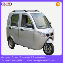 Enclosed Cabine Three Wheeler Motorcycle 150cc Fuel Cars
