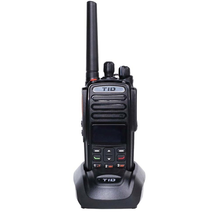Portable TID TD-9800 handy dtma 5W digital handheld two way radio dmr uhf vhf