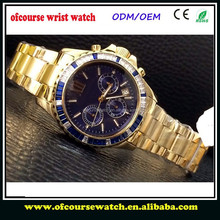 men watches luxury 18k gold chinese mechanical watch