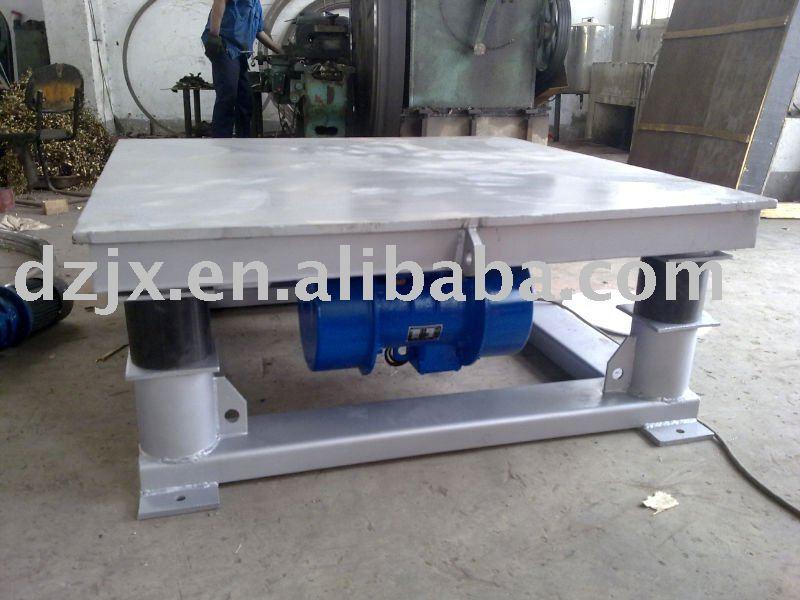 B ton table vibrante pour vrac de manutention machine de for Table vibrante