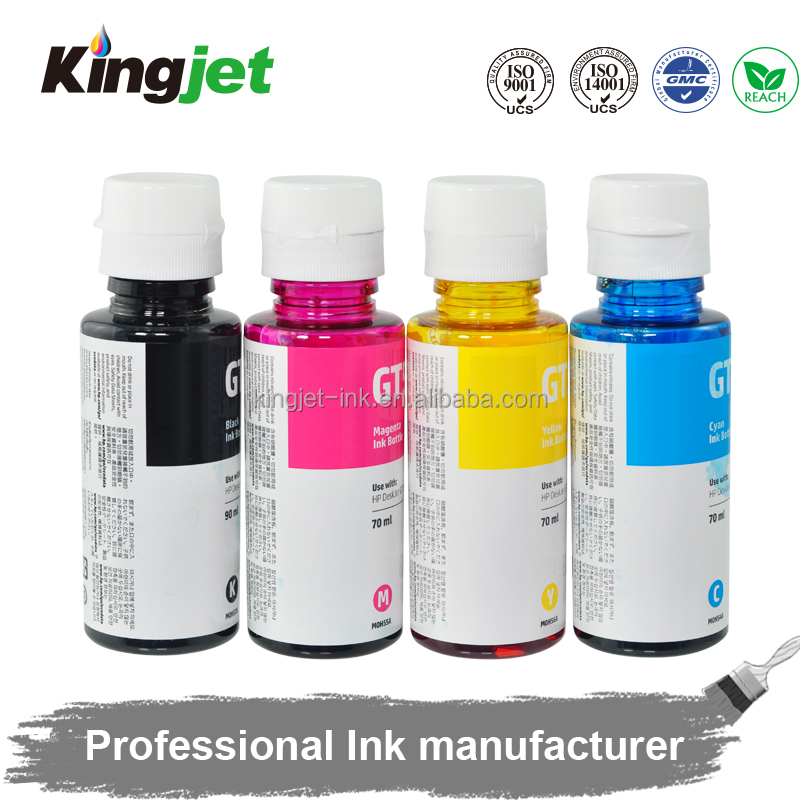 New Product Compatible for HP GT5810 GT5820 for CISS tank HP GT51 52 refill ink