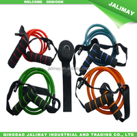 Heat resistance exercise rubber bands with door anchor