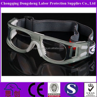 2015 New Design Fashion Polycarbonate lens basketball football swim outdoor sport goggles anti impact DSP0867