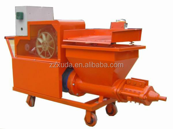 plaster sprayer cement pump machine
