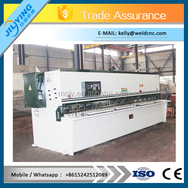 QC12Y series 8*4000mm hydraulic shearing machine price in competive and 5 years warranty