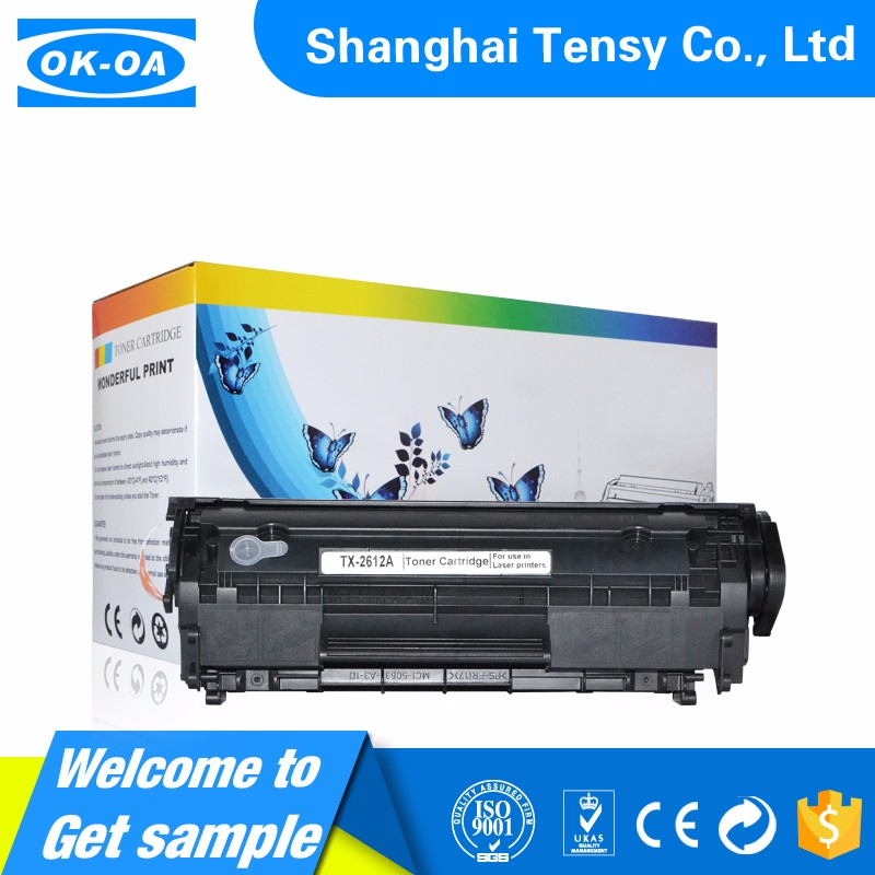 Thank you for you to choose q2612a 2612a 12a toner cartridge compatible for hp
