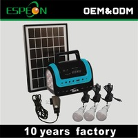 Hot sale portable 5W solar panels solar power system home