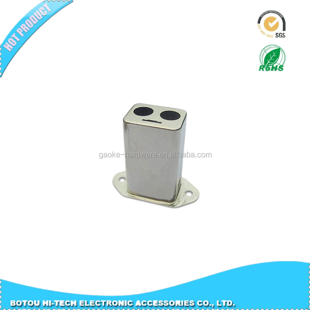 Rectangular Deep Drawn Enclosed metal stamping housing package GAOKE