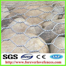 Anping hexagonal wire mesh/gabion box/gabion basket