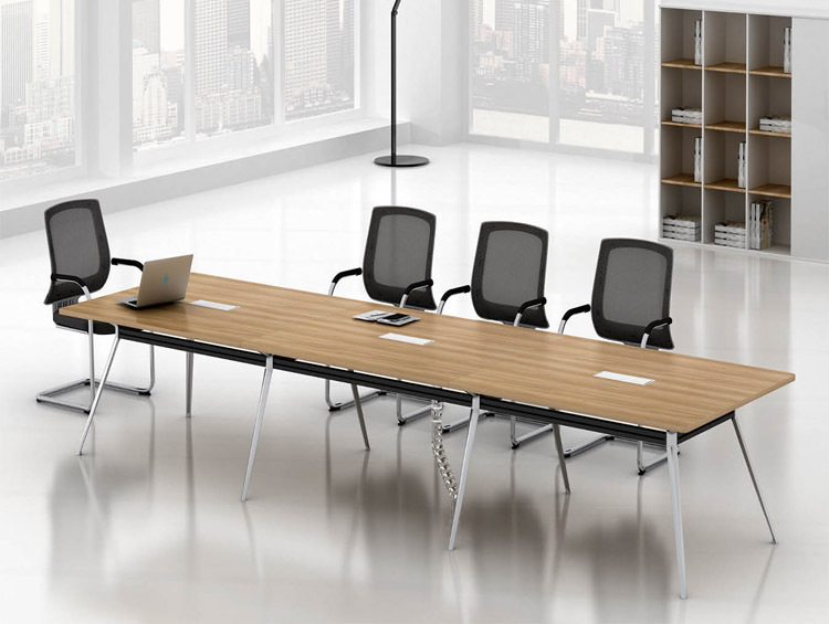 Sfs b 08a office furniture 6 person meeting table with for 10 person conference table