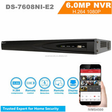 Hikvision onvif nvr software DS-7608NI-E2 8ch POE NVR Kit Firmware Upgrad-able