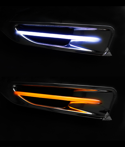2015-2016 model Kia k5 new style Fender lamp/<strong>led</strong> daytime running light/signal lamp