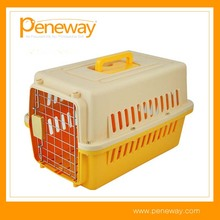 Hot selling Travel Pet Plastic Air Cage For Dog And Cat