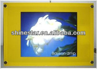 15inch LCD advertising display player for retail POP with wall mounted
