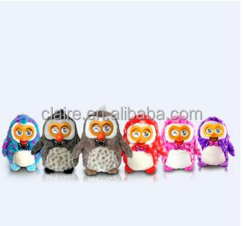 2017 new fashion hot selling APK enabled plush toys smart interactive talking back doll