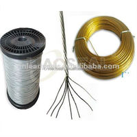 SW-004 7 Strands stainless steel wire with plastic