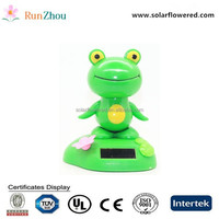 Super sized solar swing dancing cartoon animal