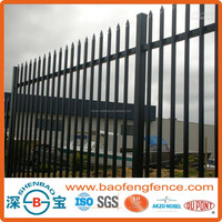 Powder Coated Ornamental Spear Top Hercules Security Steel Tubular Fence in Garden,Home,Factory, School(Factory & Exporter)