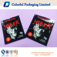 5g resealable aluminum foil bag/plastic ziplock bag for packaging herbal incense/tobacco potpourri/spice/smoke