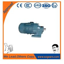 Industrial gear box motor reducer is low-speed