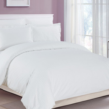 wholesale bed linen flat 100% cotton plain white used hotel bed sheets