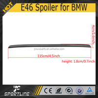 Unpainted ABS E46 Rear Racing Spoiler for BMW 2D
