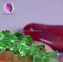4mm faceted crystal glass bicone beads