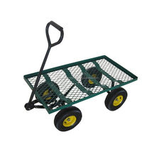 cheap steel utility mesh garden tool cart
